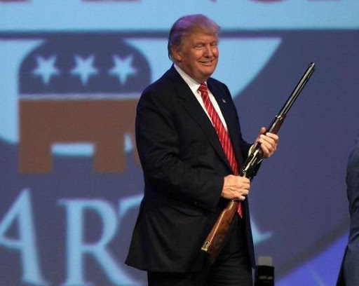 No guns allowed at Trump's NRA speech