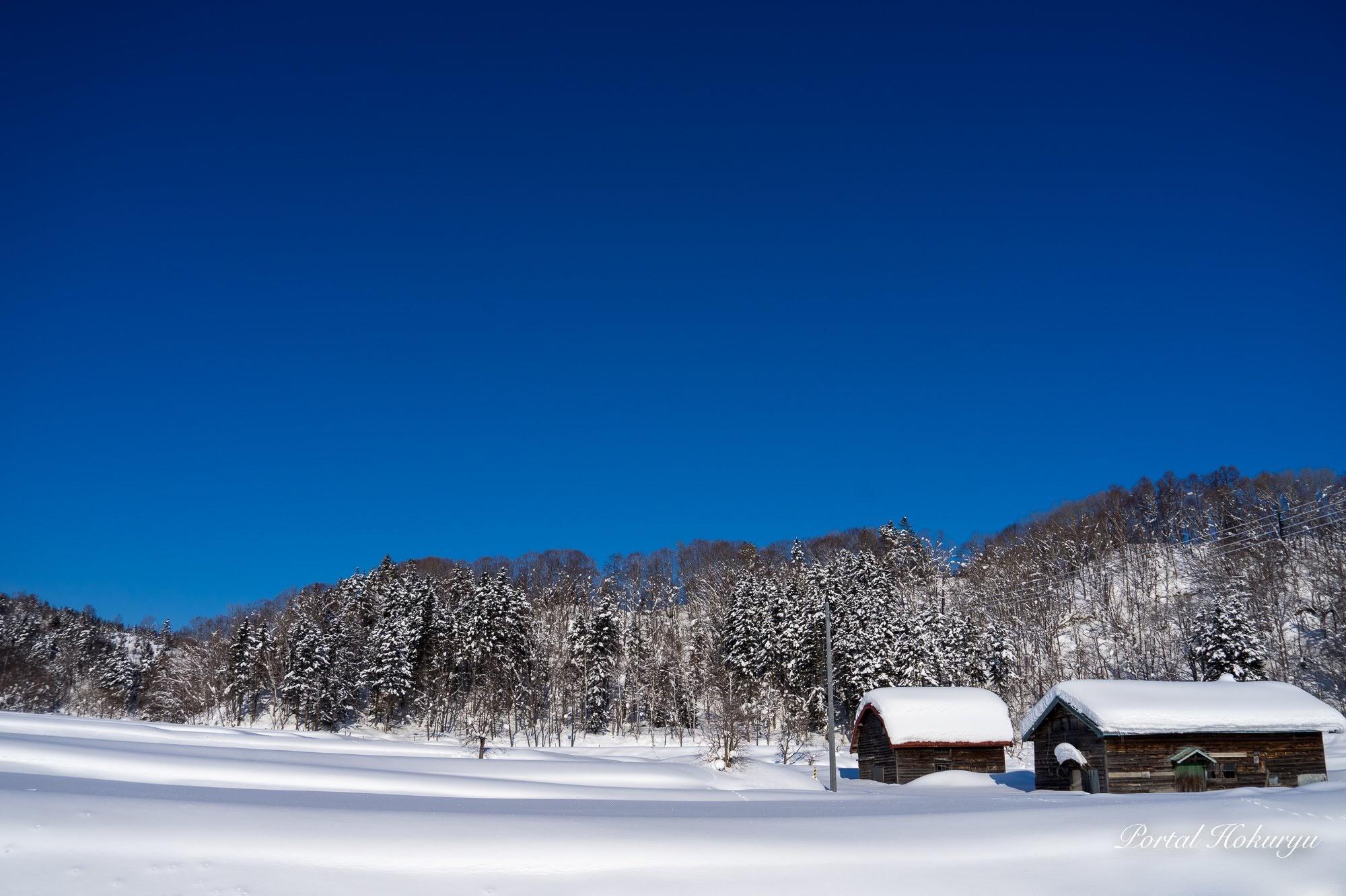 静寂なる雪景色