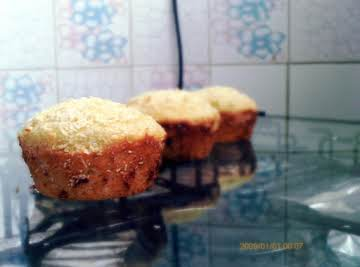 Coconut Lemon Muffins