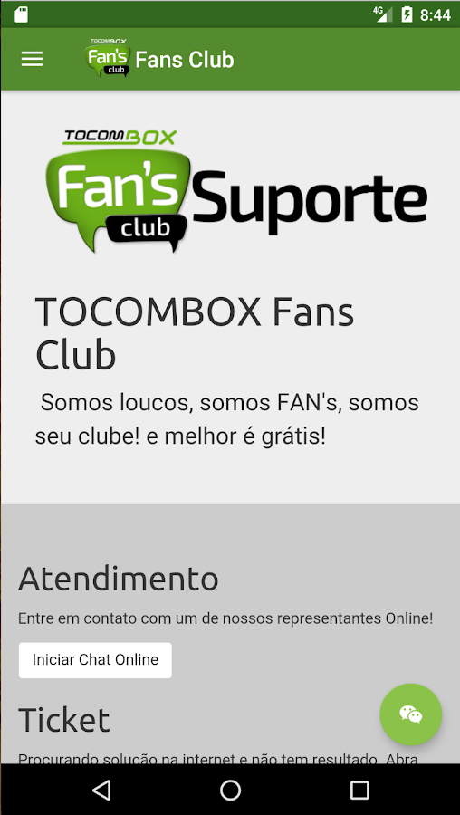 Tocombox Fans Club- screenshot