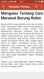 Kicau Masteran Pekin Robin Mp3 - náhled