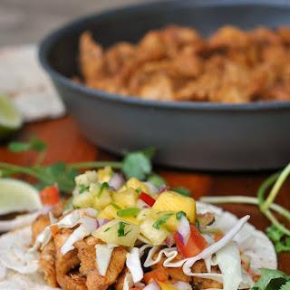 Caribbean Chicken Tacos.