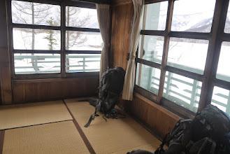 Photo: 山小屋で畳ということにワンゲラーはカルチャーショックを受ける