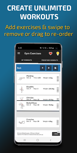 Gym Exercises & Workouts 3.30 screenshots 3