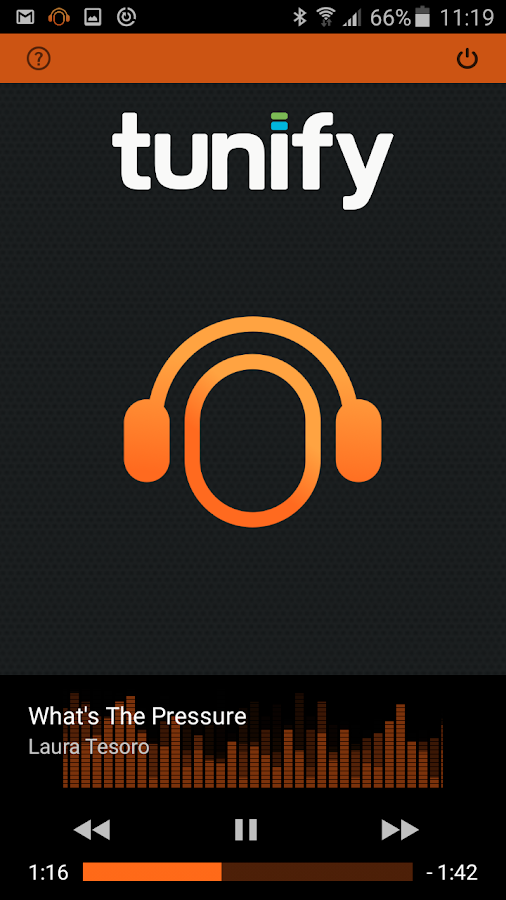 Tunify Headphone- screenshot