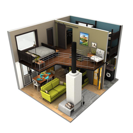 Small Home Design 3D Apk 1