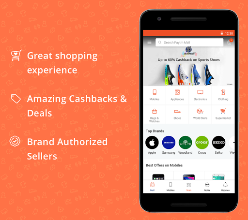 Paytm Mall: Online Shopping app (apk) free download for Android/PC/Windows screenshot