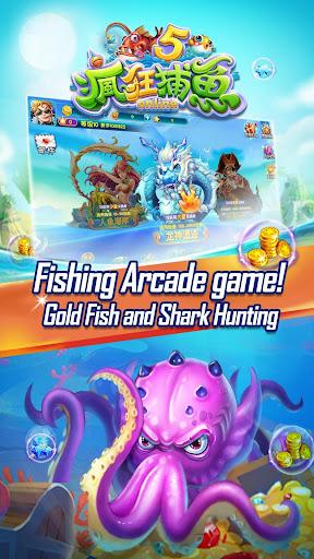 Crazyfishing 5-2018 Arcade gold fishing game 1.0.1.2 {cheat hack gameplay apk mod resources generator} 1