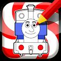 Coloring Thomas Tank Engine icon