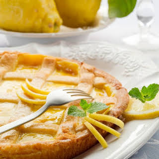 Who Needs Lemon Bars When You Can Make This Lemon Chess Pie? The Crust & Filling Is Way Better!.