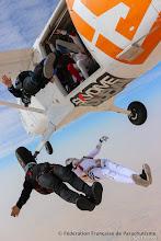 """Photo: L'équipe de France de Freefly """"Airwax"""" en entrainement à Dubaï, fev.17, photo S. Chambet"""