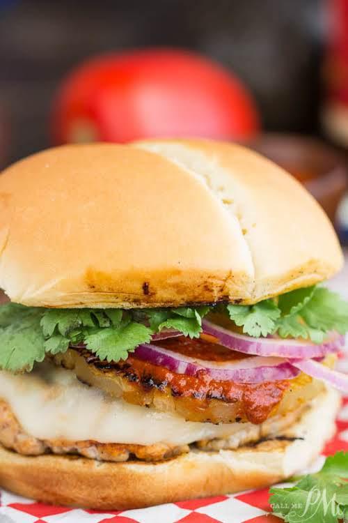 """Tacos Pastor Pork Burger """"My Tacos Pastor Pork Burger has the same..."""