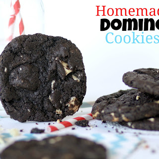 Homemade Domino Cookies (like Great American Cookie Company)