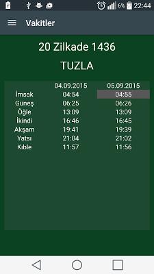 Hicri Takvim - Ezan Vakti - screenshot