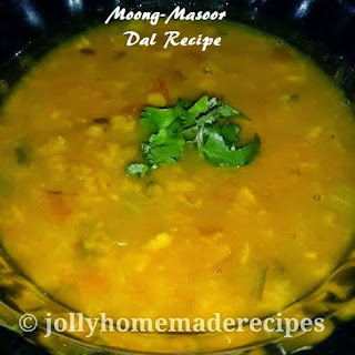 Punjabi Moong-Masoor Dal.