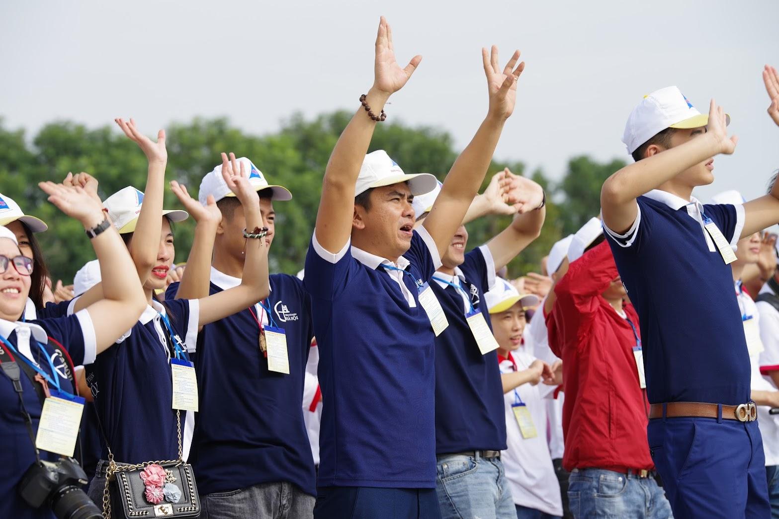 Những hình ảnh đẹp về lễ khai mạc Đại Hội Giới Trẻ giáo tỉnh Hà Nội lần thứ XV tại Thanh Hóa - Ảnh minh hoạ 9