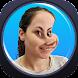面白い顔になるカメラ - Androidアプリ