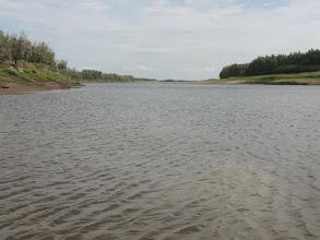 Photo: Протока Кульунлэнгпосл, выбрались на простор