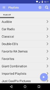 project blue audio client for JRiver Media Center 2.39.5 MOD for Android 2