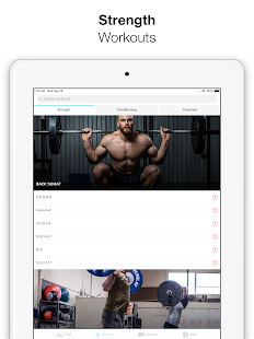 Keelo - Strength HIIT Workouts WOD at Home & Gym Screenshot