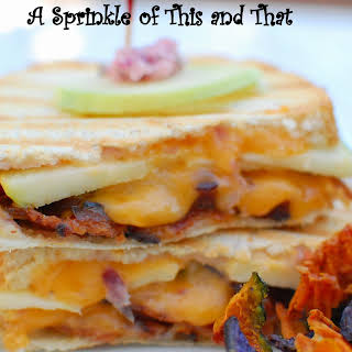 Apple Cheddar Bacon Paninis.