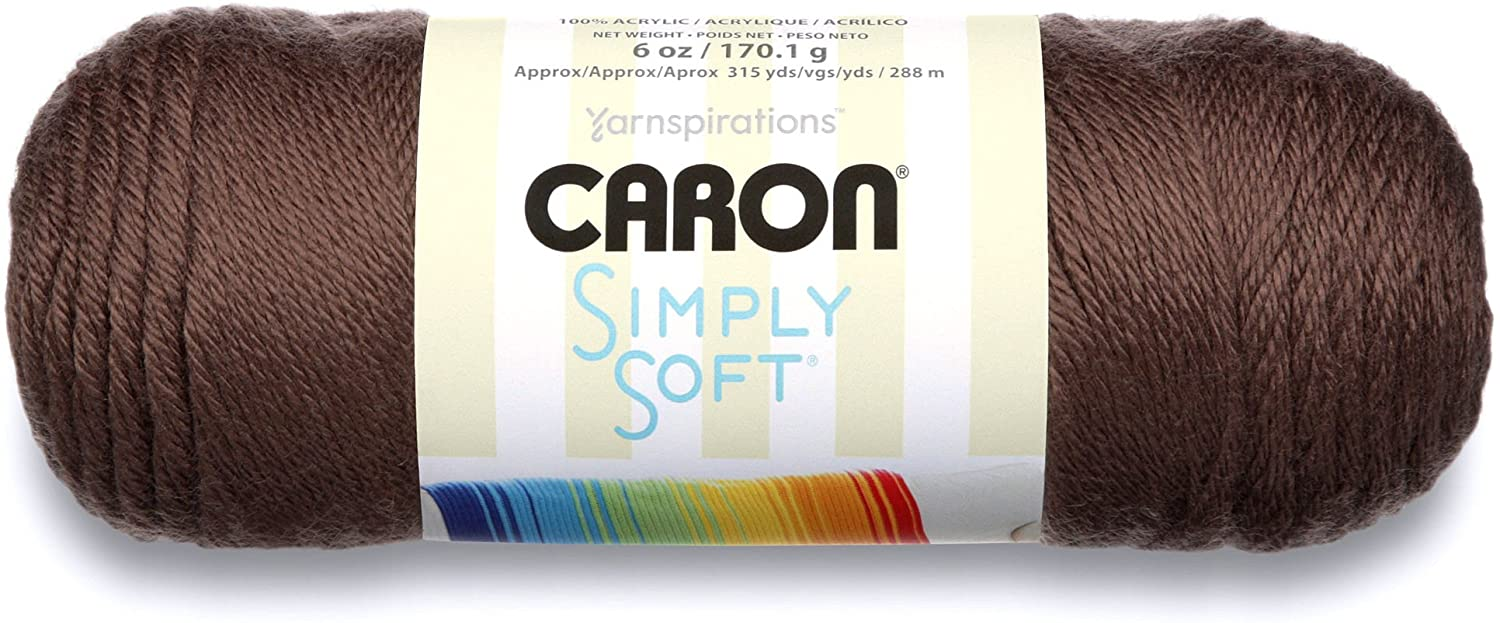 yarn for baby blankets--Caron Simply Soft
