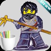 Draw Lego Ninjago