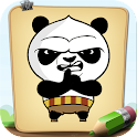 How To Draw Panda Warrior icon