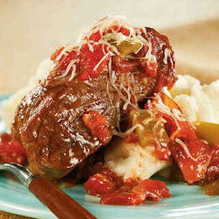 Slow-Cooker Saucy Swiss Steak.