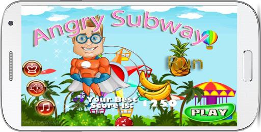Angry Subway Run