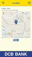 Screenshot of DCB Bank Mobile Banking App