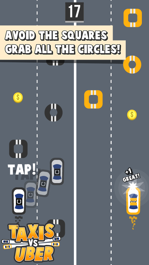 TAXIS VS UBER STREET CONFLICT- screenshot