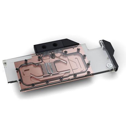EK vannblokk for skjermkort, EK-Vector RTX RE - Copper + Plexi