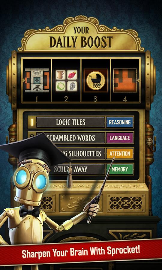 A Clockwork Brain - στιγμιότυπο οθόνης