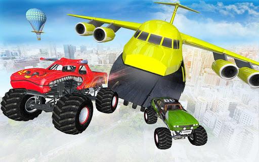Ramp Monster Truck Stunts:New Racing Games Apk 2