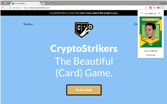 Cryptostrikers Last Sold Cards
