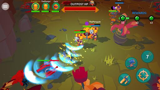 Space Pioneer: Multiplayer PvP Alien Shooter 1.10.1 screenshots 1