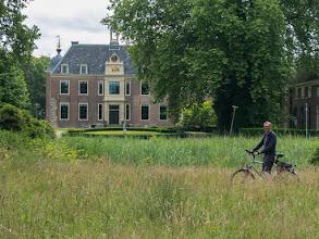 Photo: Fietsen bij kasteel Ruurlo