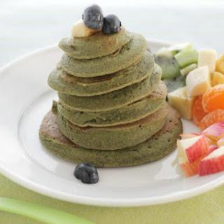 Banana Spinach Pancakes.