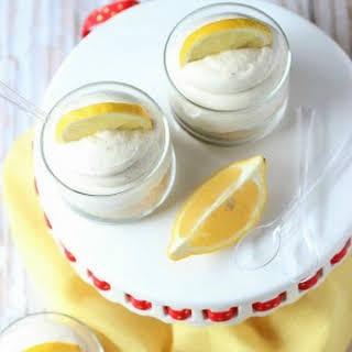 No Bake Lemons -N- Cream Cheesecakes.