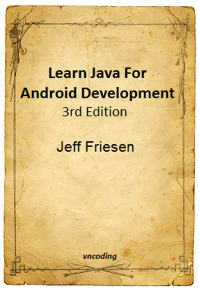 Learn Java For Android Development 3rd Edition