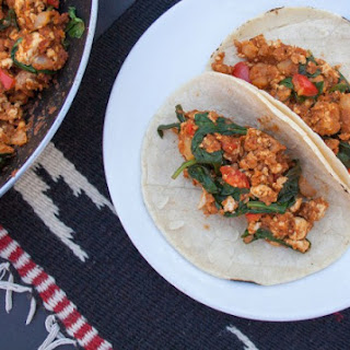 Soy Chorizo and Tofu Breakfast Tacos