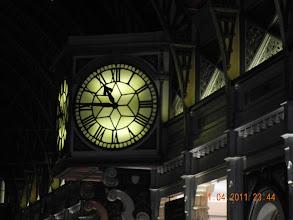 Photo: nous attendons le train  ( de nuit)