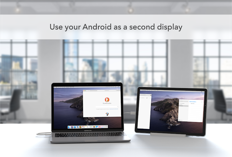 Duet Display Android App Screenshot
