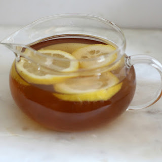 Detox Lemon Ginger Green Tea.
