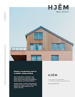 Hjëm Real Estate - Real Estate Flyer item