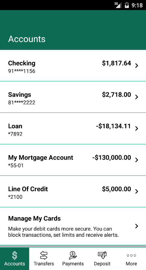 Grinnell State Bank Mobile- screenshot
