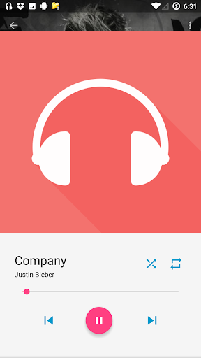 MP3 Music Player app (apk) free download for Android/PC/Windows screenshot