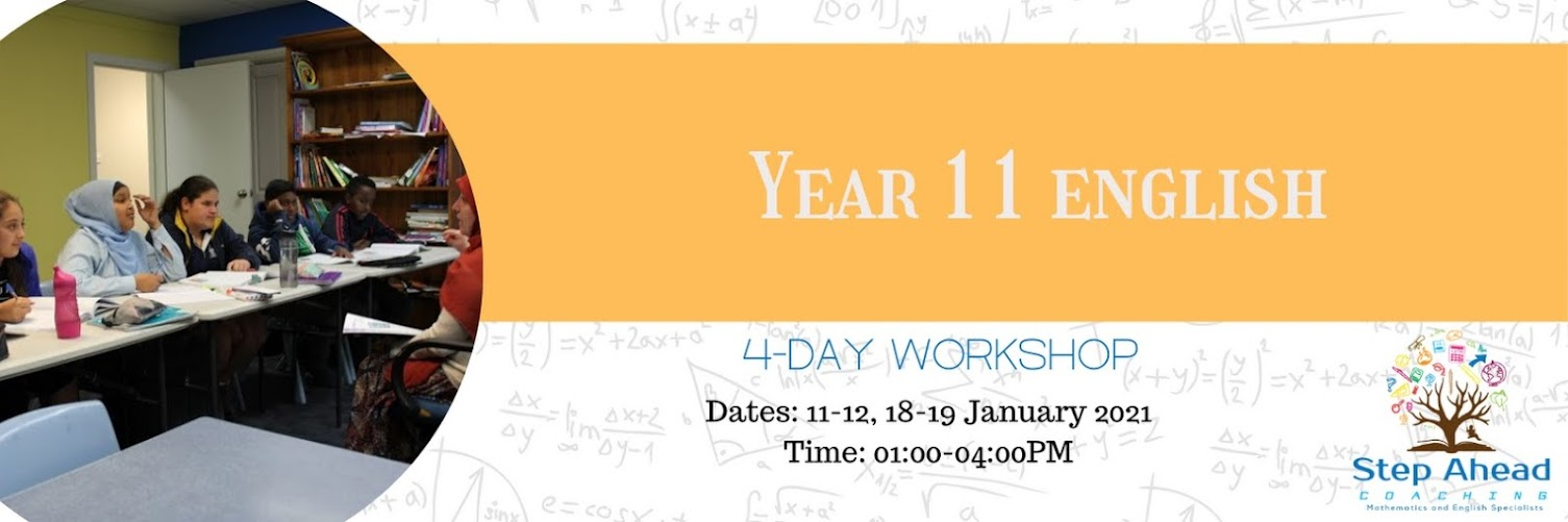 Year 11 English (4-day workshop)