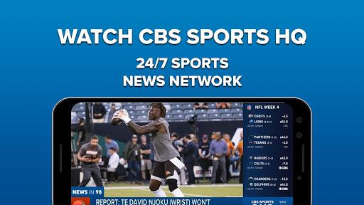 CBS Sports App screenshot 1